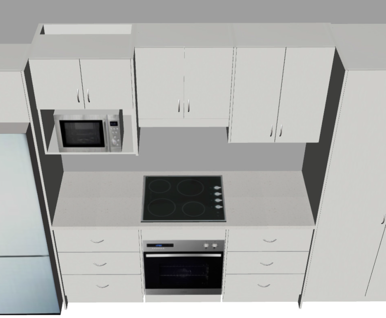 Galley Large (3D2)